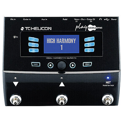 TC HELICON Play Acoustic Vocal FX And Guitar FX Pedal • 233.28£
