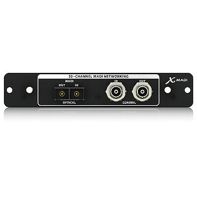 Behringer Madi 32-Channel Audinate Expansion Card For X32 • 333.45£