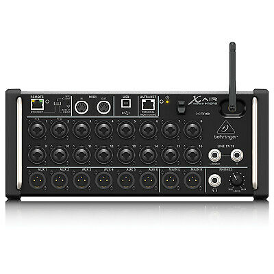 Behringer X AIR XR18 18-Channel 12-Bus Digital Mixer For IPad/Android Tablets • 486.56£
