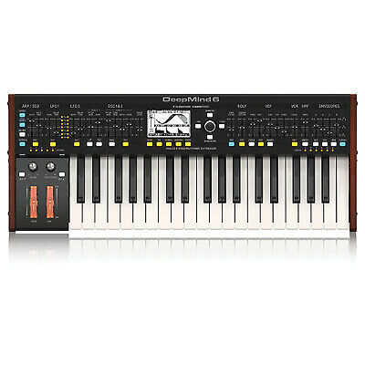Behringer DEEPMIND 6 True Analogue 6-Voice Polyphonic Synthesizer • 574.31£