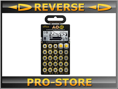 Teenage Engineering PO-24 Office Noise Percussion Drumcomputer Und Sequencer • 61.63£