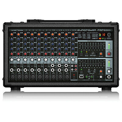 Behringer PMP2000D 2000-Watt 14-Channel Powered Mixer • 277.80£