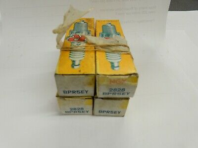 NGK 2828 BPR5EY SPARK PLUGS X 4 ALL BOXED NEW OLD STOCK TOYOTA COROLLA Ref B1Y • 7£