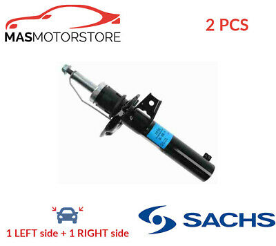 2x 312 615 SACHS FRONT SHOCK ABSORBER SET SHOCKERS P NEW OE REPLACEMENT • 150.95£