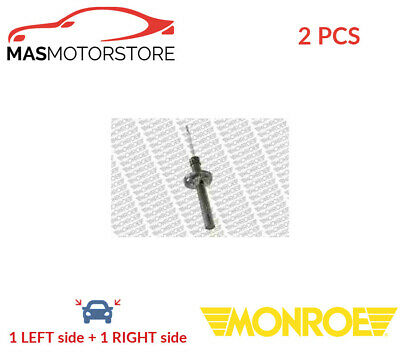 2x 11195 MONROE FRONT SHOCK ABSORBER SET SHOCKERS P NEW OE REPLACEMENT • 110.95£