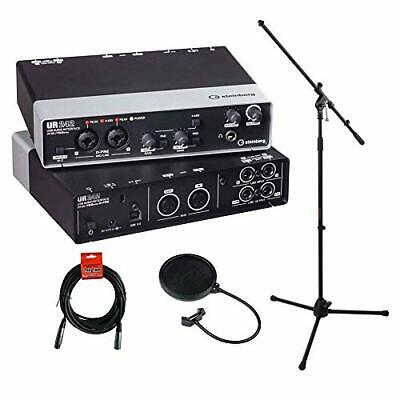 Steinberg UR242 - USB 2.0 Audio Interface With Dual Microphone Preamps, MS  • 243.31£