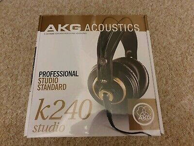 AKG K240 STUDIO Professional Semi-Open, Over-Ear Studio Headphones • 46.95£