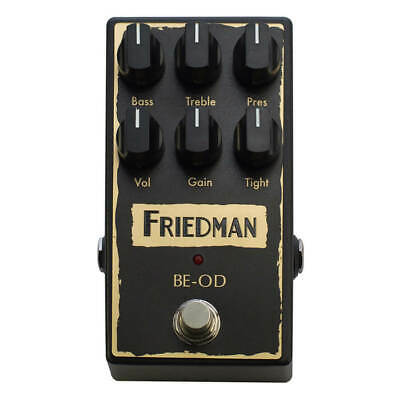 Friedman BE-OD Overdrive Guitar Pedal • 190£