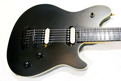 EVH Wolfgang Special Stealth Black HT Used Maple Neck Made In Japan/Hard Case • 992.24£