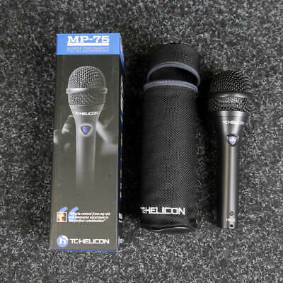 TC HELICON MP-75 Modern Performance Vocal Microphone With Mic Control • 95£