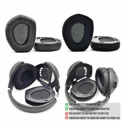 Replacement Ear Pads For Sennheiser HDR RS165 RS175 RS185 RS195 Headphones UK • 14.95£