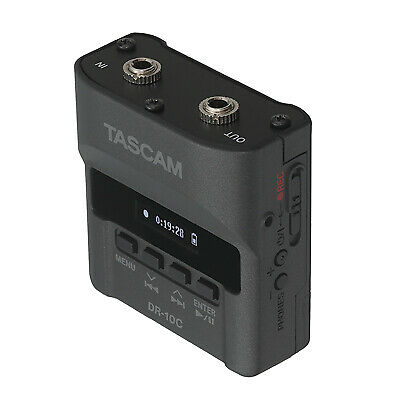 Tascam DR-10C (For Use With Sennheiser Lavalier Mics Model DR-10CS) • 250.59£