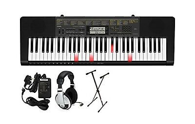 Casio LK-265 PPK 61-Key Premium Lighted Keyboard Pack With Stand, Headphones ... • 169.95£