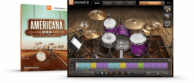 Toontrack Americana EZX - EzDrummer 2 Expansion Serial - Digital Delivery • 42.31£