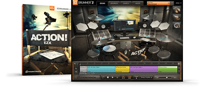 Toontrack Action! EZX - EzDrummer 2 Expansion Serial - Digital Delivery • 42.08£