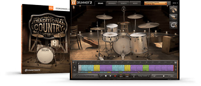 Toontrack Traditional Country EZX - EzDrummer 2 Expansion Serial - Digital Deliv • 42.08£