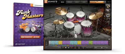 Toontrack Funkmasters EZX - EzDrummer2 Expansion Serial - Digital Delivery • 42.08£