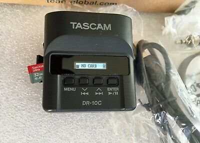 Boxed Tascam DR10 CS Pocket Recorder With SD Card DR-10 CS • 149.95£