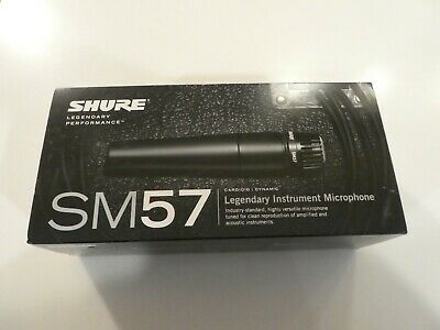 Shure SM57-LC Cardioid Dynamic Microphone • 53.26£