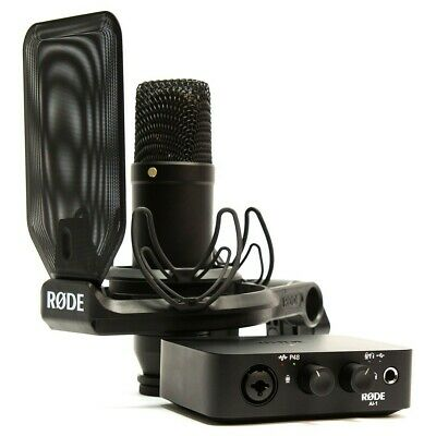 Rode NT1AI1-KIT Studio Kit NT1 Mikrofon + AI1 Interface • 200£
