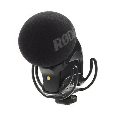 Microphone Professional Rode Røde Stereo Videomic Pro Rycote To Condenser • 231.32£