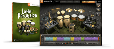 Toontrack Latin Percussion EZX - EzDrummer 2 Expansion - Digital Delivery • 42.08£