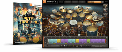 Toontrack Metal Machine EZX - EzDrummer 2 Expansion - Digital Delivery • 42.08£