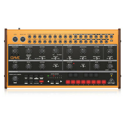 Behringer Crave Analogue Semi-Modular Synthesizer And Sequencer • 159£