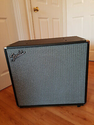 Fender Rumble 1x15 V3 Bass Ext Cab. Hardly Used, Mainly For Home Practice. • 200£