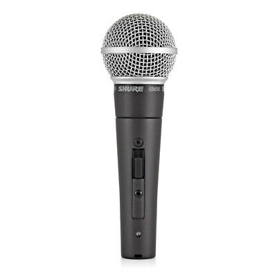 Shure SM58 SE Cardioid Dynamic Handheld Vocal Microphone W/ On-Off Switch • 99£