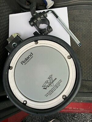 Free P&P. Roland PDX-6 Dual Trigger Mesh Head Drum Pad With Clamp  ED003032 • 69.99£