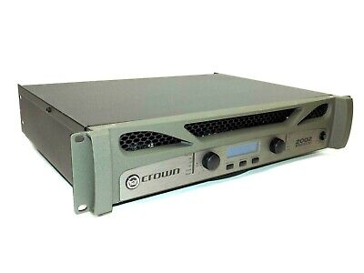 Crown Audio XTi 2002 - Two-channel, 800W @ 4Ω Power Amplifier Works • 348.84£
