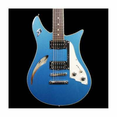 Duesenberg Double Cat 12-String Electric Guitar In Catalina Blue, Artist Stock • 2,199£