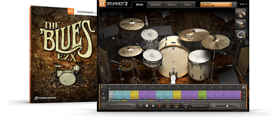 Toontrack The Blues EZX - EzDrummer 2 Expansion - Digital Delivery • 53.25£