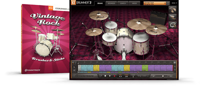 Toontrack Vintage Rock EZX - EzDrummer 2 Expansion - Digital Delivery • 50.97£