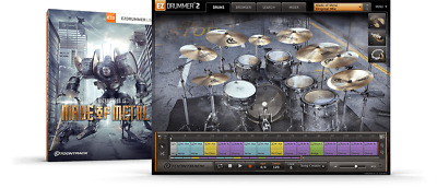 Toontrack Made Of Metal EZX - EzDrummer 2 Expansion - Digital Delivery • 52.59£