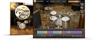 Toontrack Southern Soul EZX - EzDrummer2 Expansion Serial - Digital Delivery • 51.49£