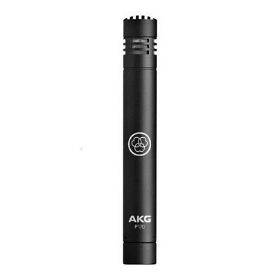 AKG Perception 170 Condenser Drum Overhead Acoustic Guitar Microphone Black P170 • 71.64£