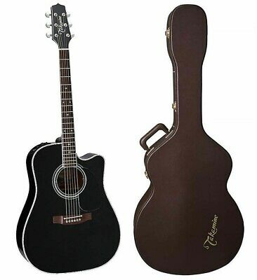 Takamine EF341SC Dreadnought B-STOCK Acoustic Guitar + Case EF-341 SC • 916.41£