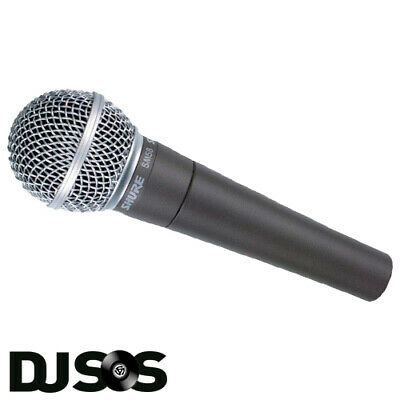 SHURE SM58-LC Professional Vocal Microphone Handheld SM58 Mic PA Singer Vocalist • 119.95£