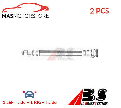 Brake Hose Line Pipe Rear Inner Abs Sl 4990 2pcs P New Oe Replacement • 22.95£