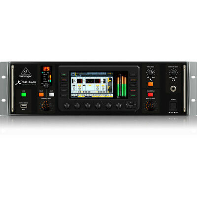 Behringer X32 RACK 40-Input 25-Bus Digital Rack Mixer Mic Preamps USB Interface • 1,034.47£