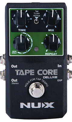 NUX Tape Core Deluxe Tape Echo Effects Pedal • 62£