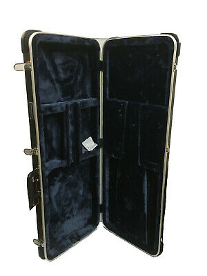 Freestyle Fcga- Hard Shell Deluxe Abs Electric Bass Guitar Case *new*