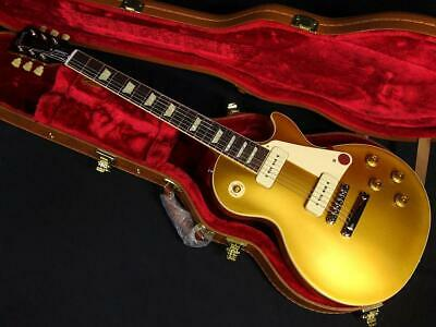 Gibson 50s Les Paul Standard E.Guitar Free-Shipping New Hard Case P-90 Gold Top • 2,091.07£