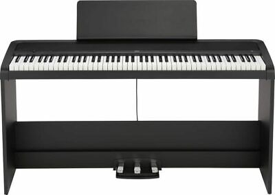 Korg B2SP 88-Key Digital Piano With Stand And Three-Pedal System (Black) • 494.14£