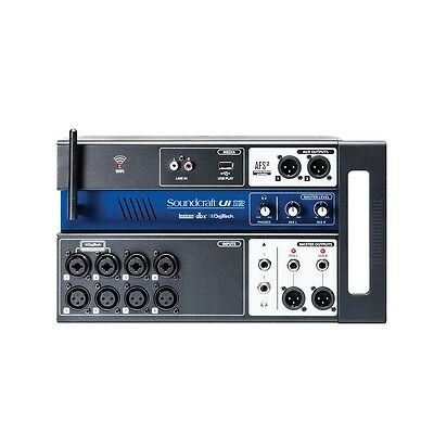 Soundcraft Ui12 12-Ch Remote-Controlled IOS Android Mac PC Linux Digital Mixer • 238.11£