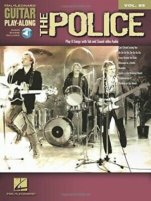 Guitar Play-Along Volume 85 The Police Tab Gtr Book/Cd (Hal Leonard Guitar ... • 15.50£