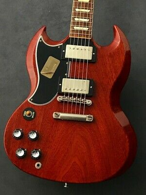 Gibson Custom Shop Historic SG Standard Reissue VOS Left Hand 2015 Faded Cherry • 3,462.99£