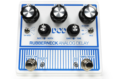 Other Guitar Delay Effects Pedal, White (DOD-RUBBERNECK-U) • 211.82£